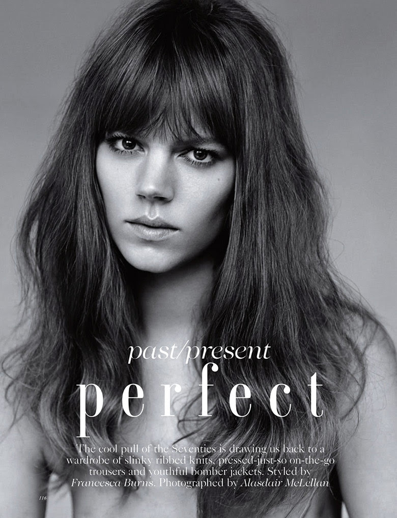 Freja Beha Erichsen by Alasdair McLellan for Vogue UK January 2015