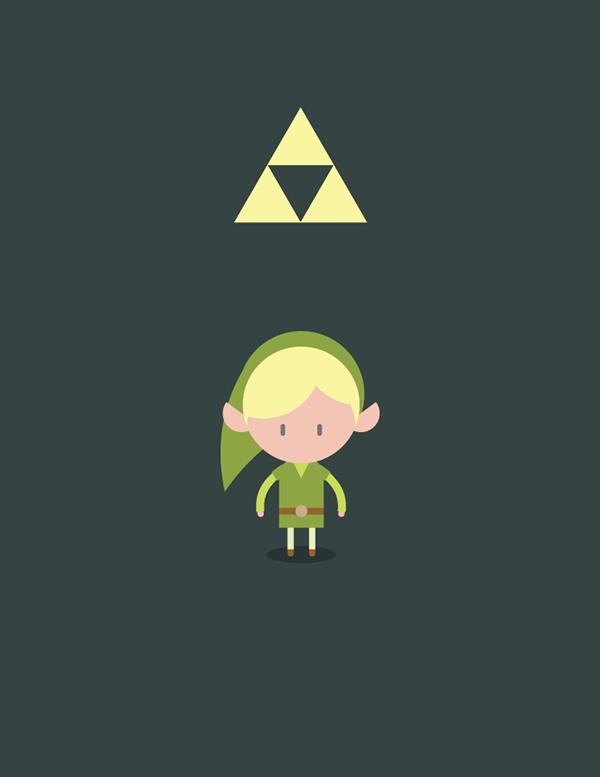 Zelda & Link byBrian Huff