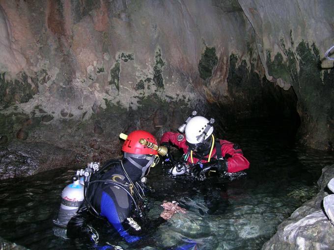 Inicio de las immersiones en Zarzalones
