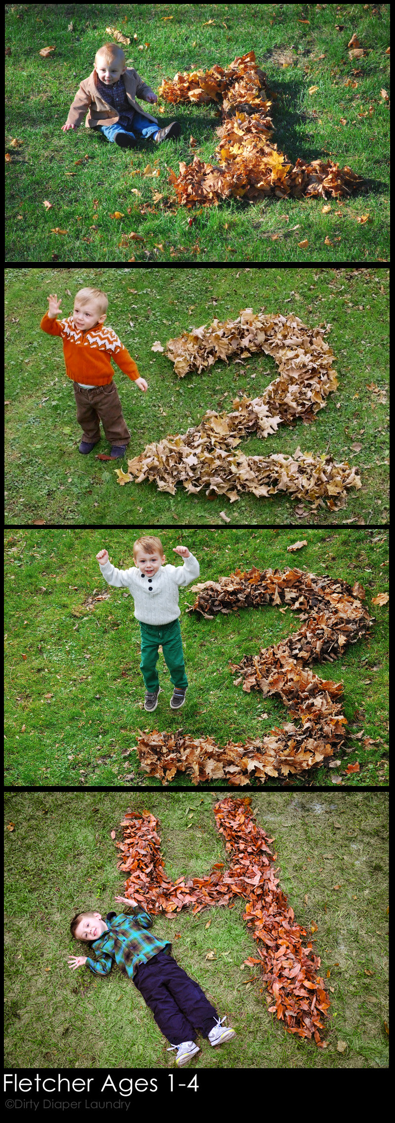 Creative Photo Ideas For Fall Babies Dirty Diaper Laundry