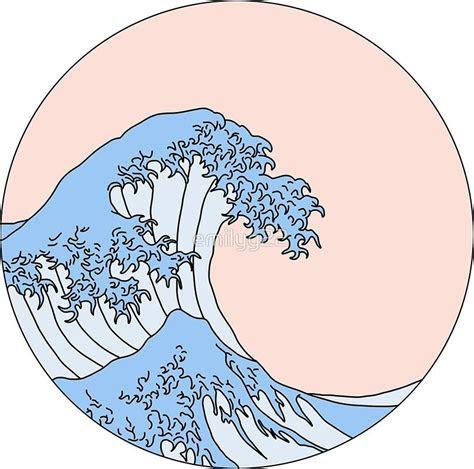 aesthetic wave sticker  emilyg christmasbirthday