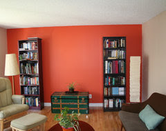 From pumpkin to tangerine, this hue is still hot stuff on walls ...