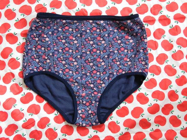 Floral underpants