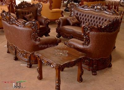 41 Koleksi Model Meja Kursi Dari Kayu Jati HD