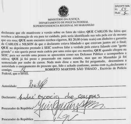 Flávio Dino falsifica documento público no programa eleitoral, diz advogado