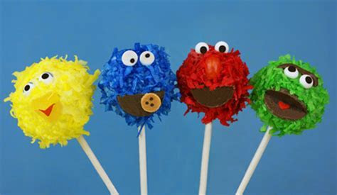 Muppet Cake Pops   CANDIQUIK