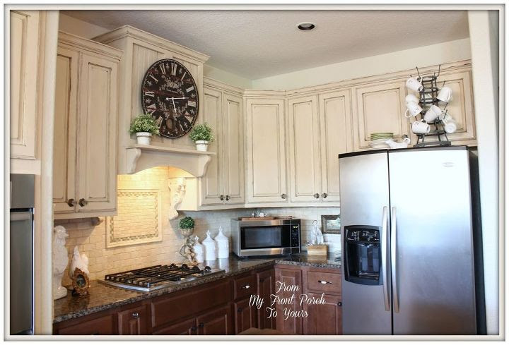 Creating a French Country Kitchen Cabinet Finish Using ...