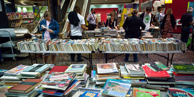 Library staff have been told by council management not to talk to the media about the changes. Photo / Natalie Slade