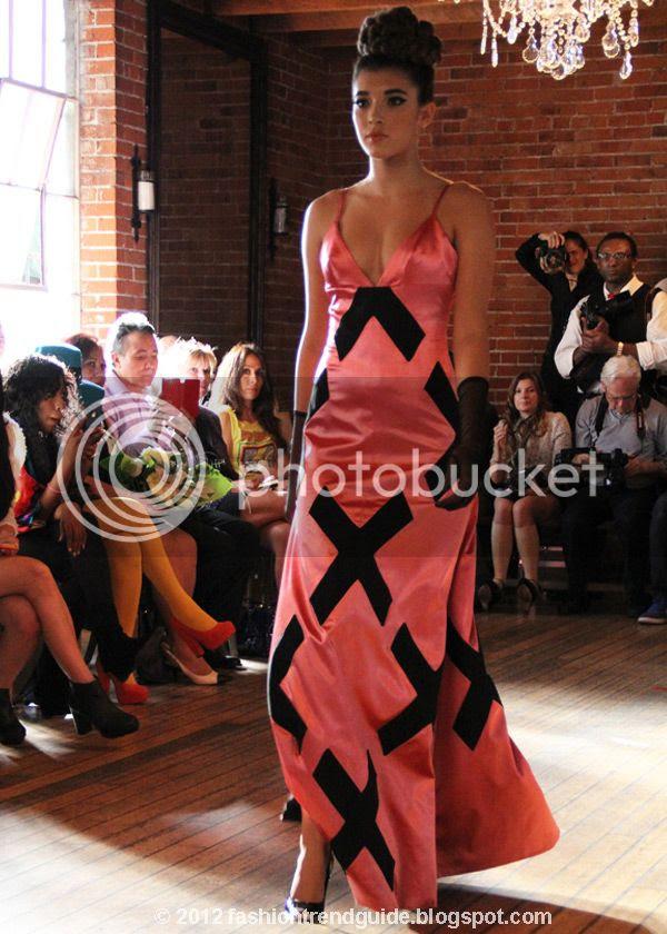 Jen Awad spring 2013 dress