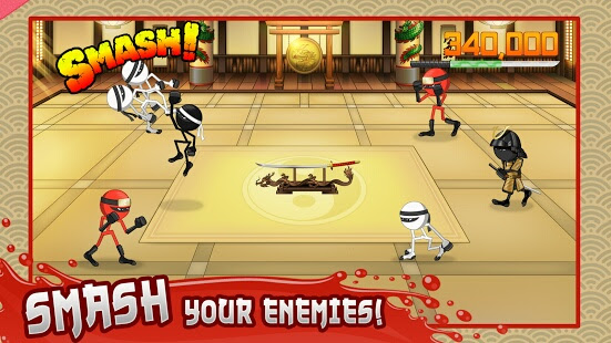 chơi agme Stickninja Smash cho ios
