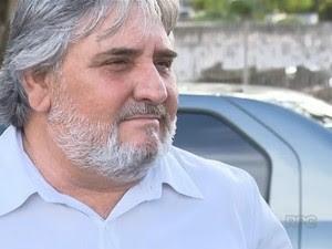 Ex-secretário de Trânsito e Segurança de Maringá,  Ideval de Oliveira (Foto: Reprodução RPC)