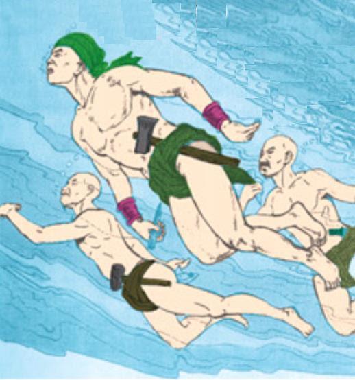 Những đặc công nước có biệt tài bơi lặn không kém gì danh tướng Yết Kiêu - Ảnh 3.