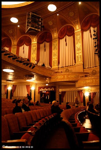 Inside The Warner Theatre Washington Dc Shantel