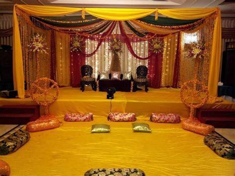 awesome henna function decoration ideas   Indian Wedding