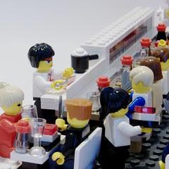 Sushi Bar - Angle View