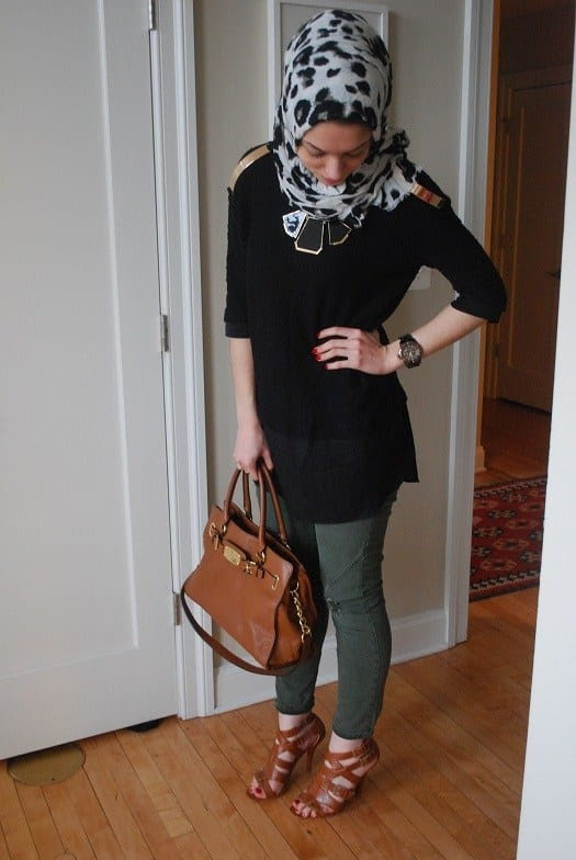 Hijab for office look jpg