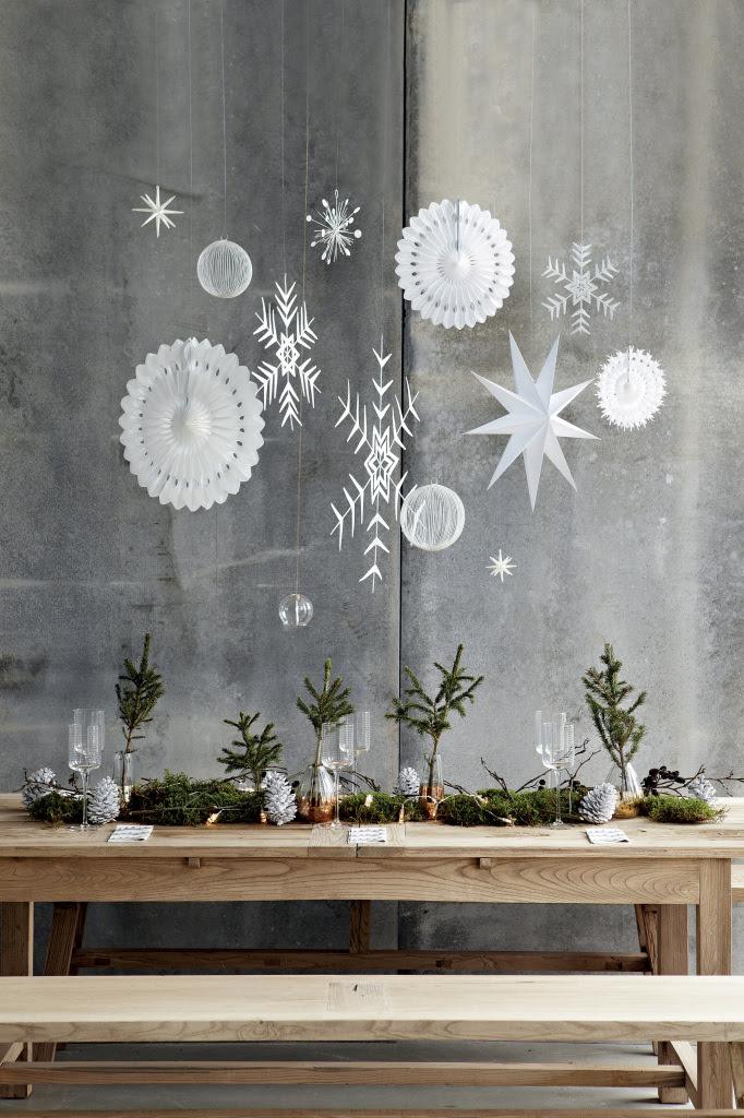 Une déco de Noël avec des branches
