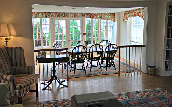 Dining Room table in Guest House