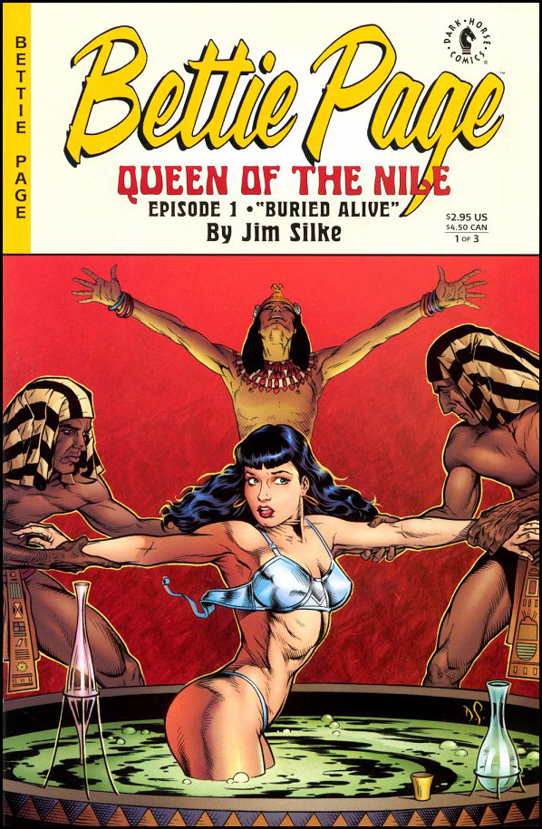 Bettie Page - Queen of the Nile #1