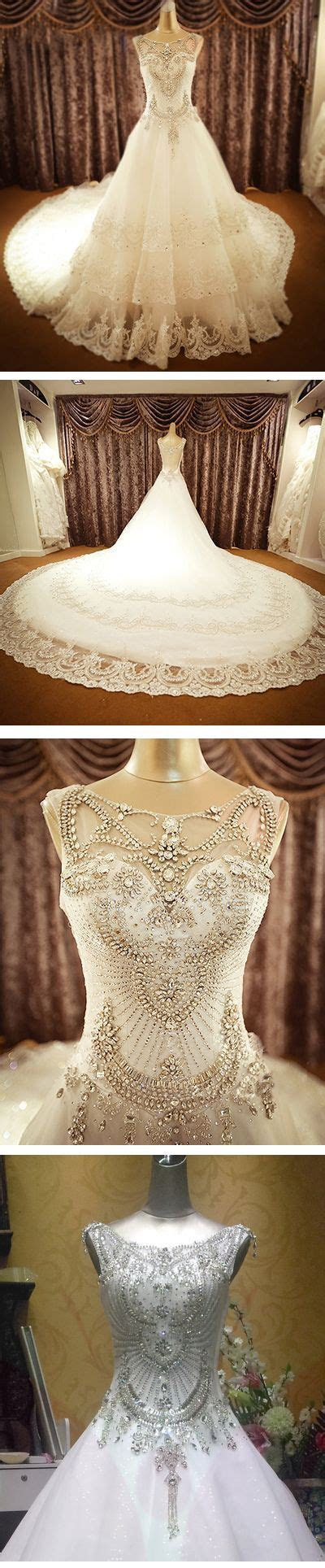 25  best ideas about Crystal wedding dresses on Pinterest