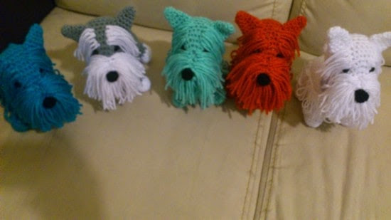 Free Crochet Yorkie Dog Pattern 2