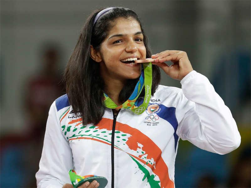 Sakshi Malik: Rio Olympics: Wrestler Sakshi Malik wins India's first ...