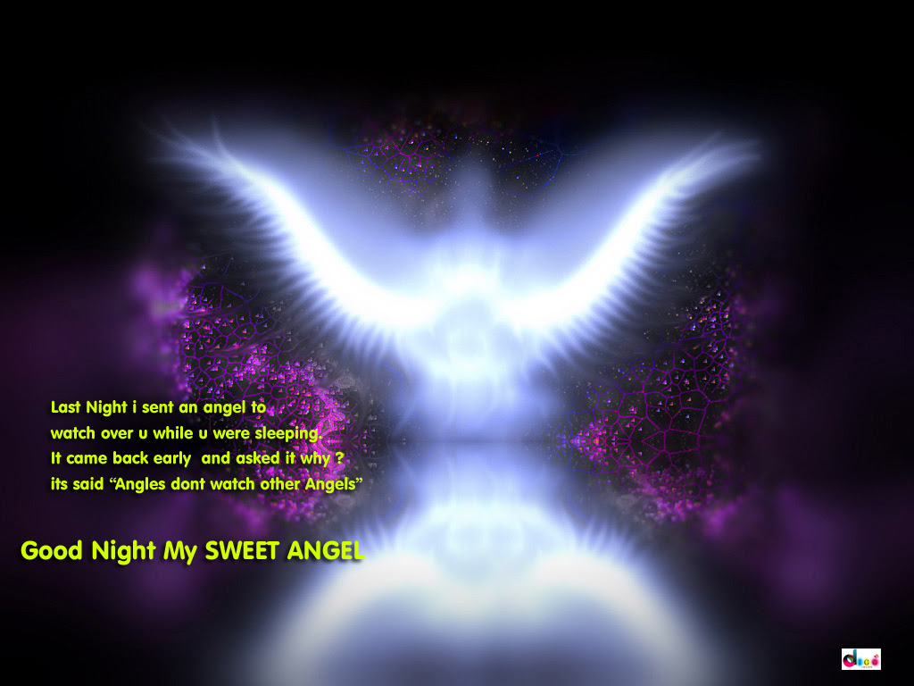 Last Night I Sent An Angel To Watch Over You While You Were Sleeping