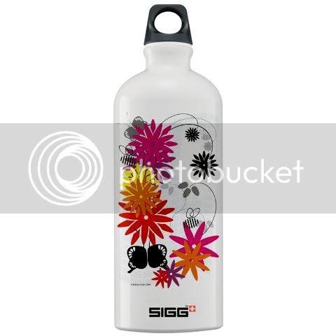 Summer Flowers Sigg Bottle