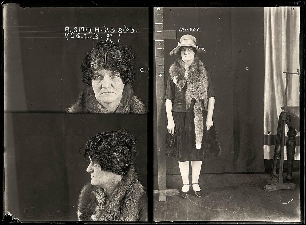 photo police sydney australie mugshot 1920 03 Portraits de criminels australiens dans les années 1920  photo photographie histoire featured art