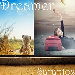 Sarantos song artwork Dreamer solo music artist Voice of Chicago new pop rock free release St. Judes