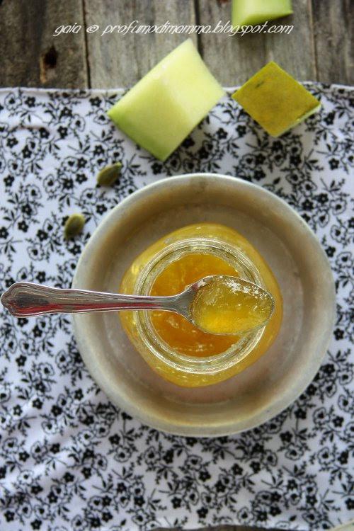 Zucca per marmellata