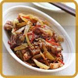 Stir-fried Roast Pork with Salted Vegetable