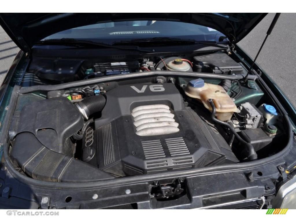 1997 Audi A4 28 Quattro Engine