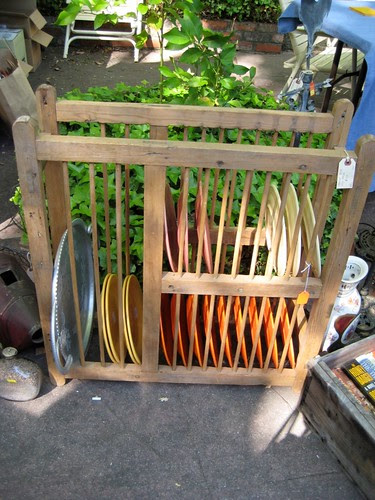 French pine dish rack