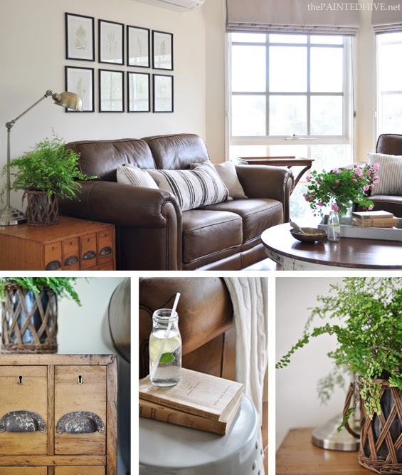 The Painted Hive | Living Room Mini Makeover and Photo Shoot
