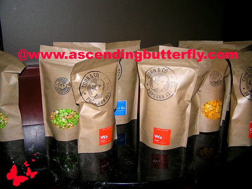 Corn and Co Popcorn at Ed Burns Fitzgerald Family Christmas Screening WATERMARKED