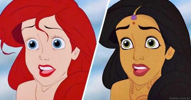 E se as princesas da Disney fossem de outros países?