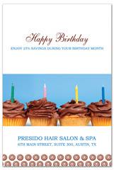 PCS-1061 - salon postcard flyer