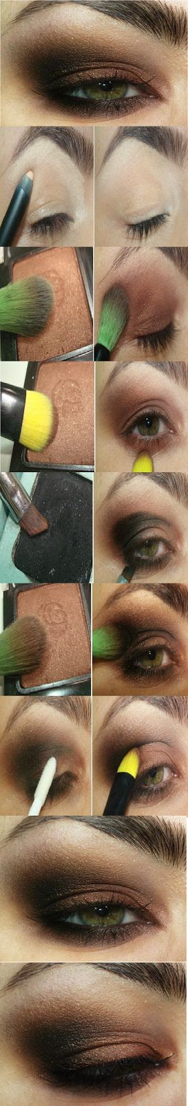 How to : Easy Smokey Eyes