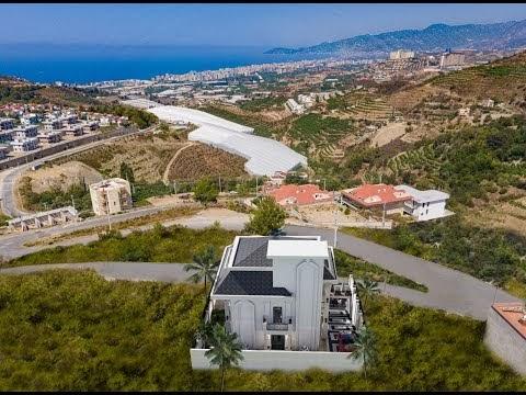 Neue private Villa zum Verkauf in Alanya  ( Preis 470.000 Euro )