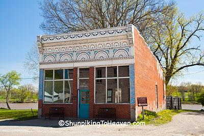 Hinish Building, Tailor Shop, Bonaparte, Iowa