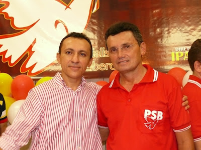 Leonardo da Silva Oliveira (PT) e Josimar Lopes (PSB)