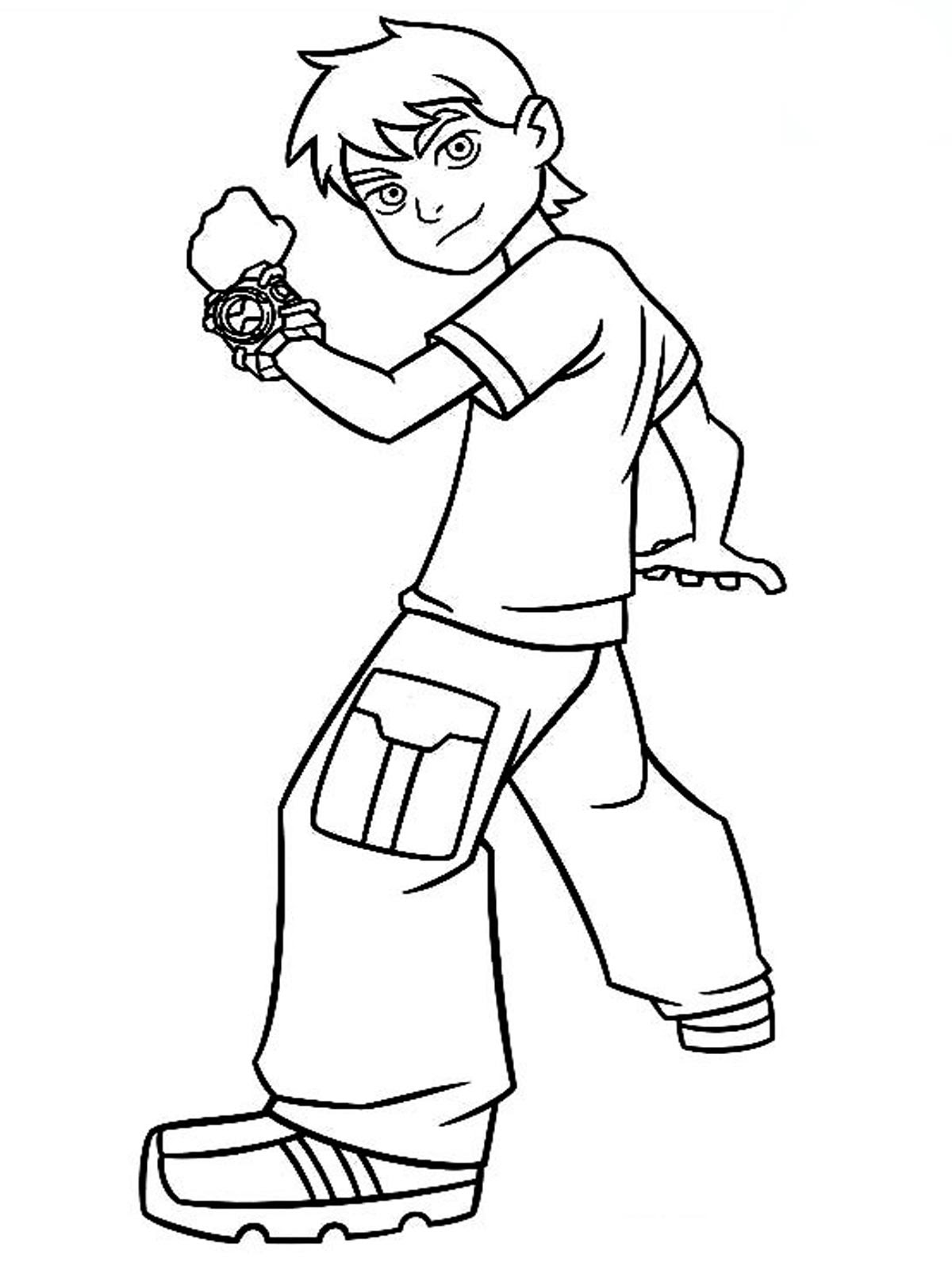 Ben 10 Drawing Step By Step At Getdrawingscom Free For Personal