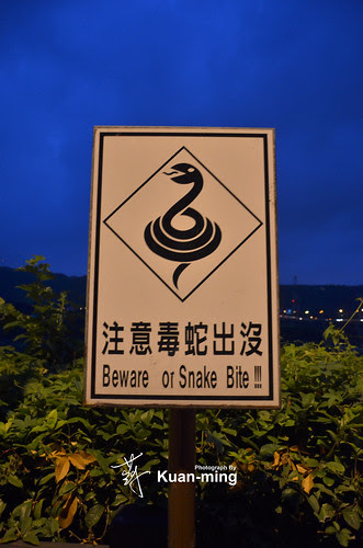 Beware of Snake Bite! 注意毒蛇出沒