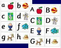Printable Alphabet Cards   Free Kids Books