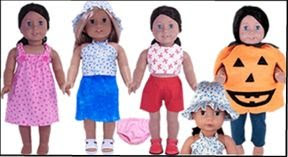 Rosie's Doll Clothes Patterns