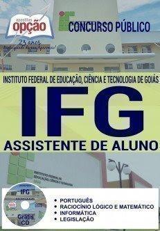 Apostila IFGO Assistente de Aluno - Instituto Federal de Goiás.
