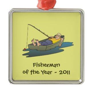 Fisherman of the Year award - lazy boat day
