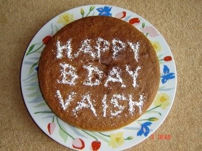 Food N More Happy Birthday Vaishali