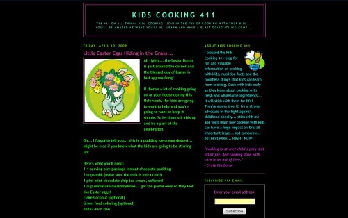 Kids Cooking 411